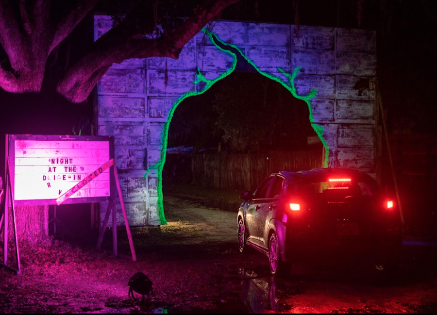 Drive-thru Halloween attraction offers pandemic-safe fun