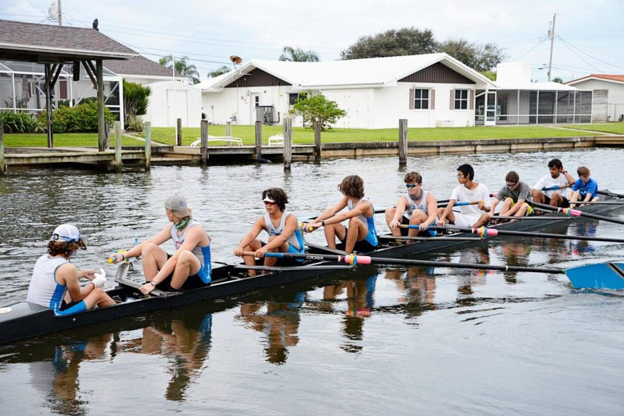 Crew's first scrimmage becomes internal race