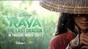 """Raya and the Last Dragon"" is available on Disney+."