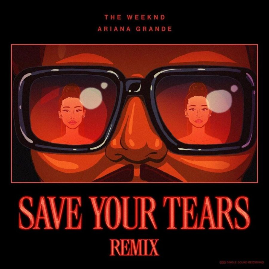Grande lifts 'Save Your Tears' remix to new heights