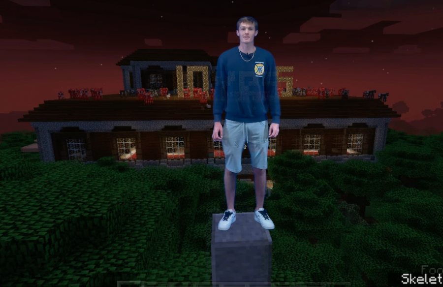 """Minecraft players, including senior Bennett Kent, look back on a decade of gaming delight."