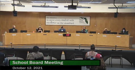 School Board in favor of a mask opt-out option if cases drop